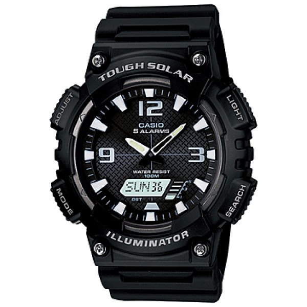 CASIO AQ-S810W-1A2VEF ANI-DIGI WATCH TOUGH SOLAR