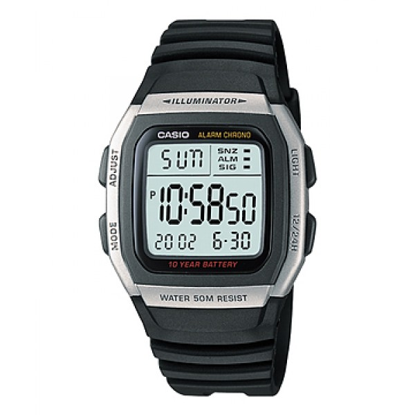 CASIO W-96H-1AVEF DIGITAL WATCH
