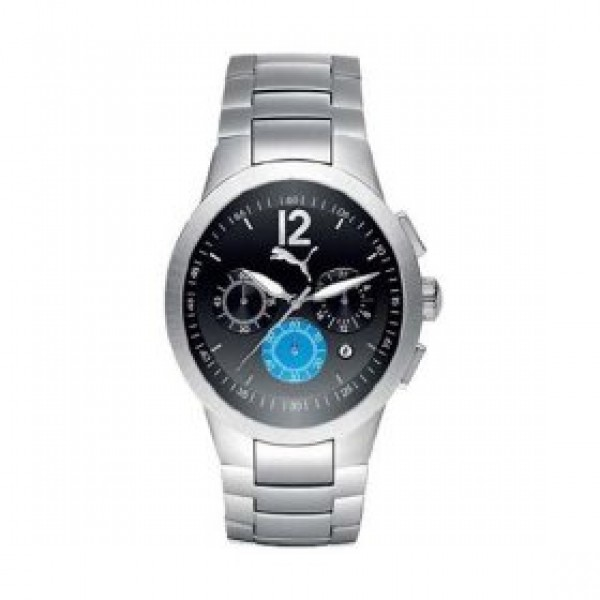 PUMA BLACK FACED MOVE WATCH PU113P2A0029.507