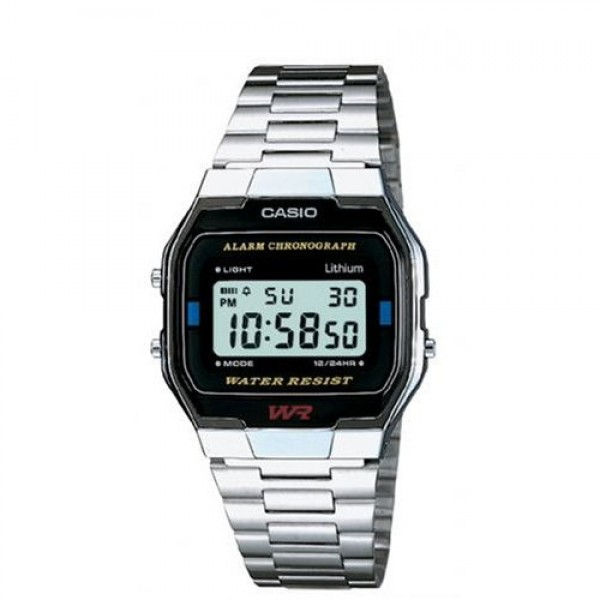 CASIO A163WA-1QES DIGITAL WATCH