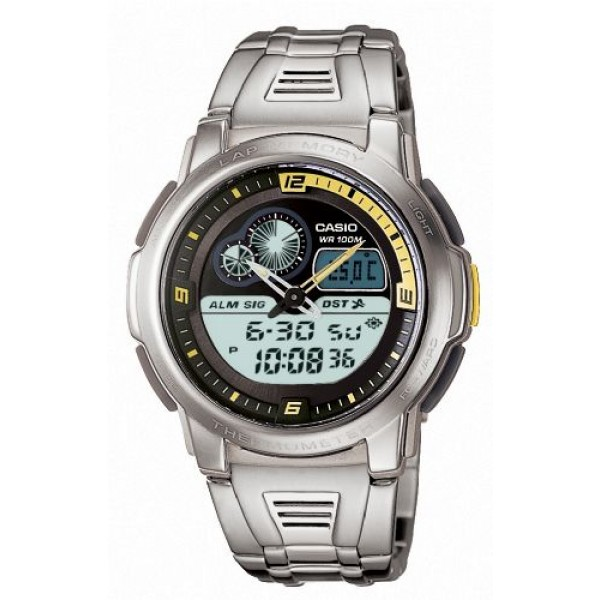 CASIO AQF-102WD-9BVEF MENS ACTIVE DIAL COMBI WATCH