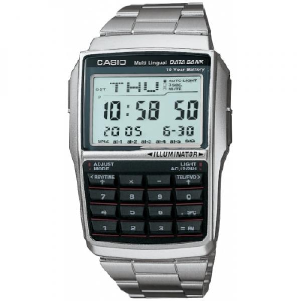 Casio Dbc 32d 1aes Databank Calculator Watch