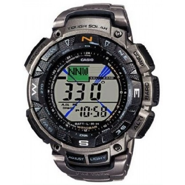 CASIO PRG-240T-7ER PRO TREK TITANIUM TRIPLE SENSOR WATCH