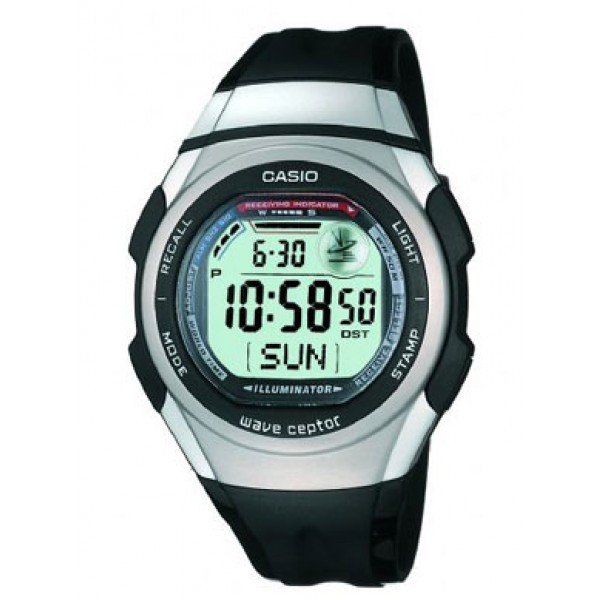 Casio waveceptor atomic watch error - YouTube