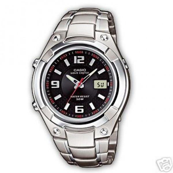 CASIO WVQ-141DE-1AVER WAVE-CEPTOR WATCH